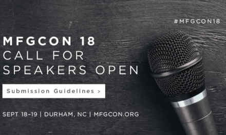 mfgCON 2018: Call for Speakers Open