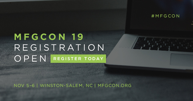 Top Ten Reasons To Register For MFGCON 2019