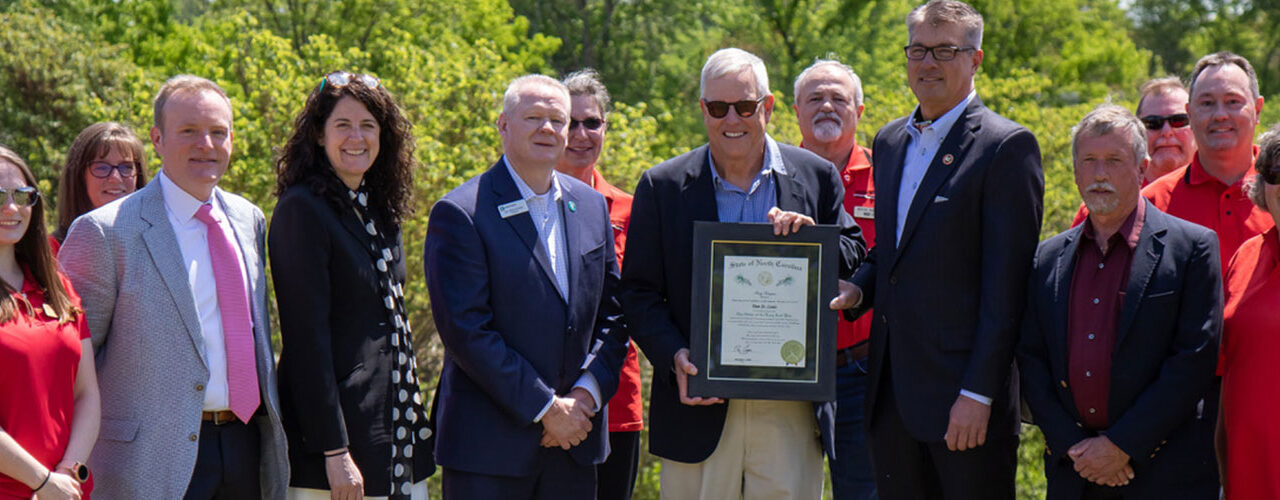 Long-time MSC director St. Louis awarded The Order of the Long Leaf Pine