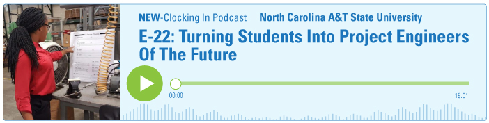 E-22: Turning Students Into Project Engineers Of The Future Banner