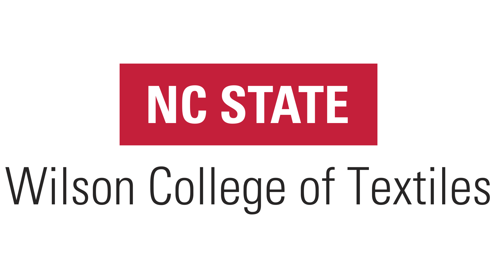 NCSU-Wilson College of Textiles Logo